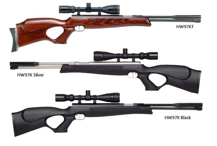 Пневматическая винтовка Weihrauch HW97