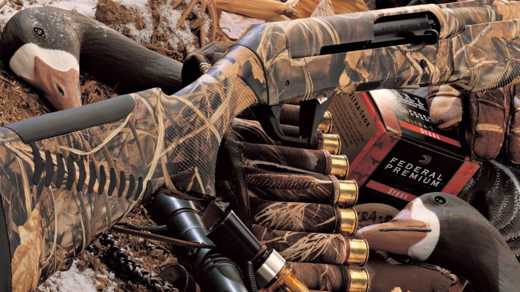 оружие для охоты на гуся