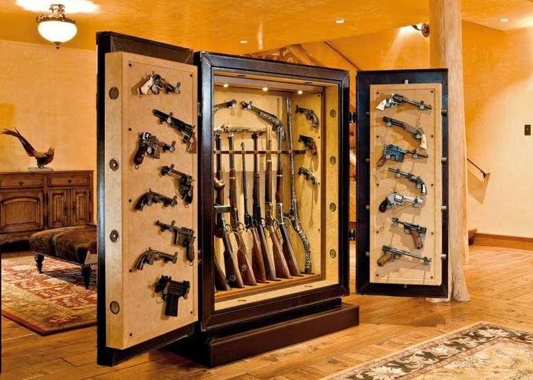 Требования к шкафу для хранения оружия
