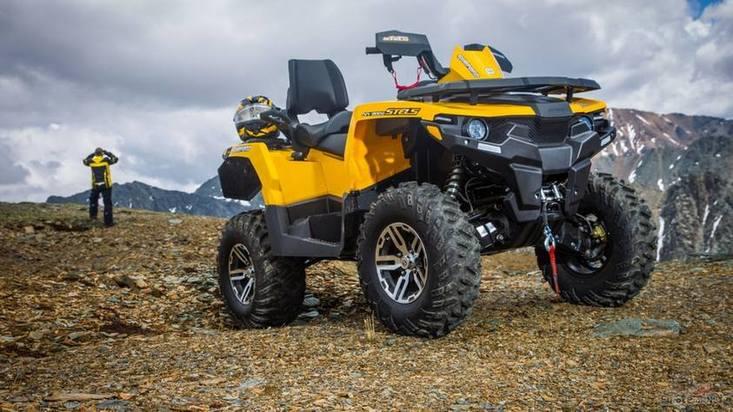 Квадроцикл Stels ATV 800 Guepard