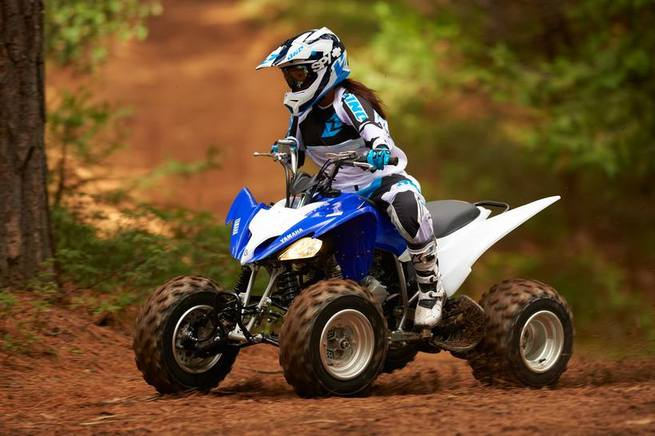 Квадроцикл Yamaha Raptor 250