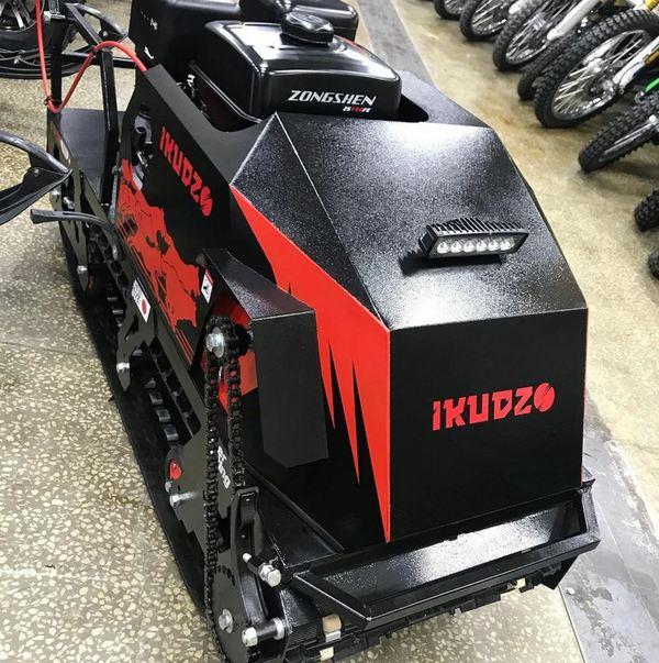 Мотобуксировщик IKUDZO 1100/380